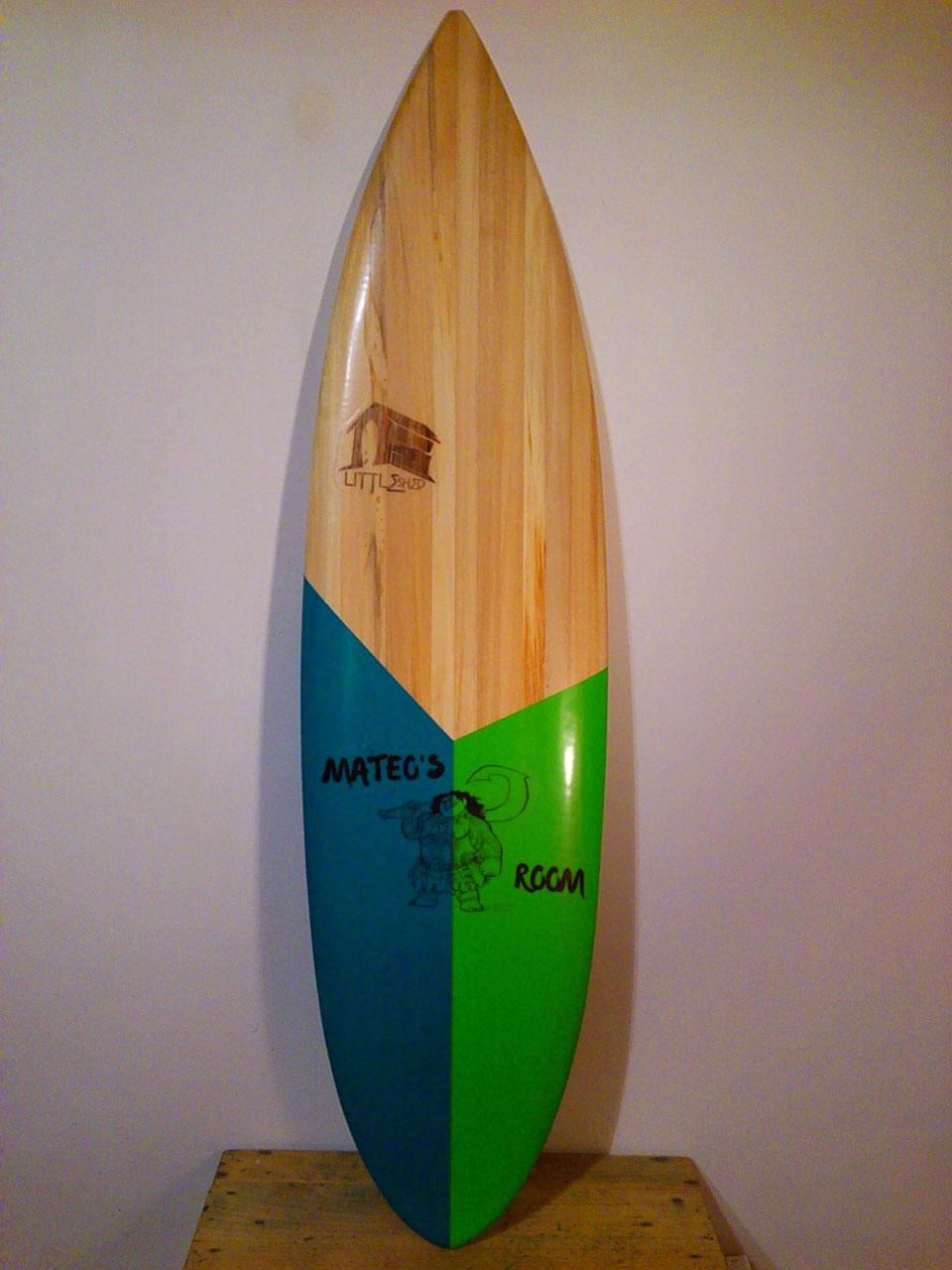 Déco Surf & mobilier - LITTLE SHED Surfboard_Fabricant de planche