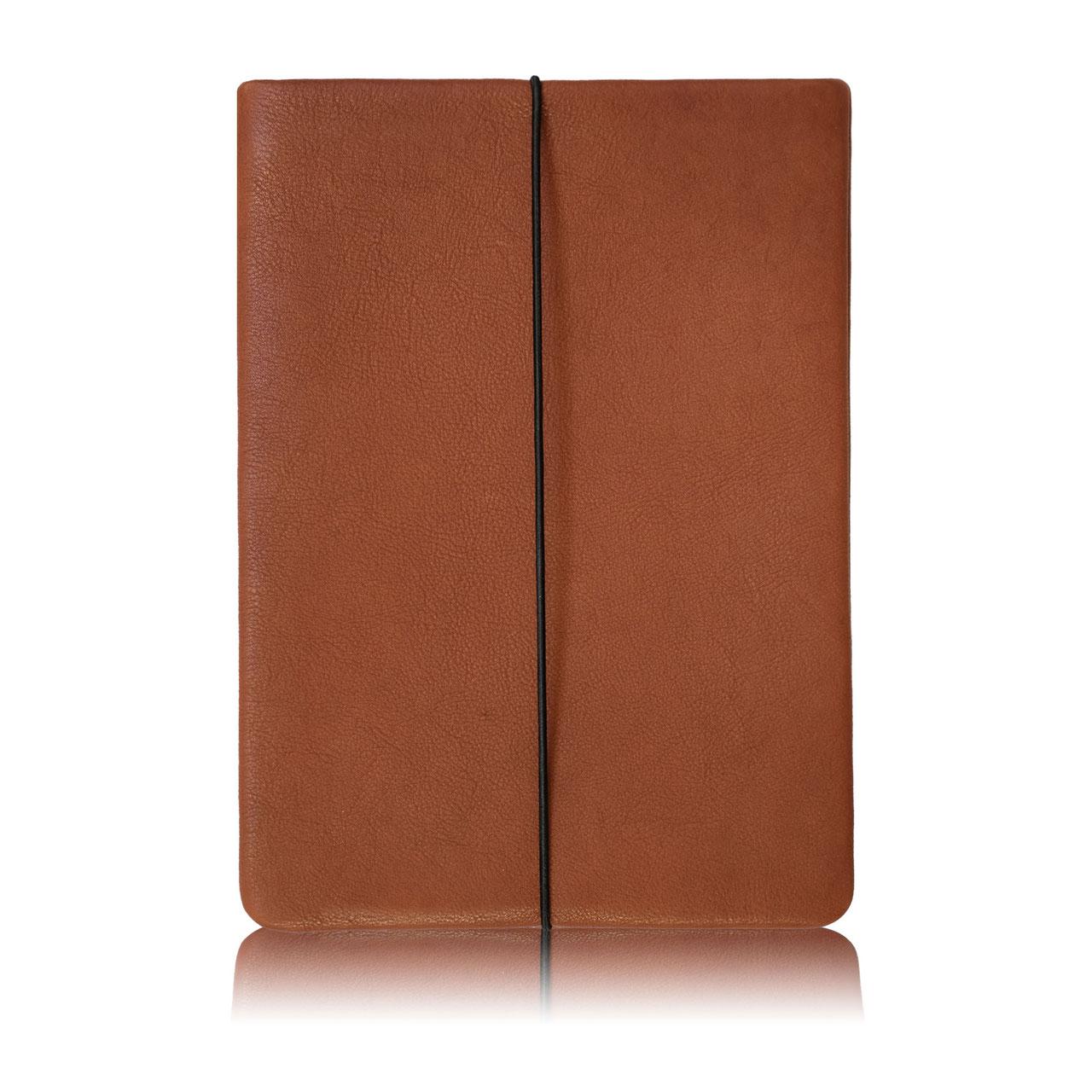6e0e097a22a54 Laptoptasche aus braunem Leder - Manufaktur für Leder Cases   Co.