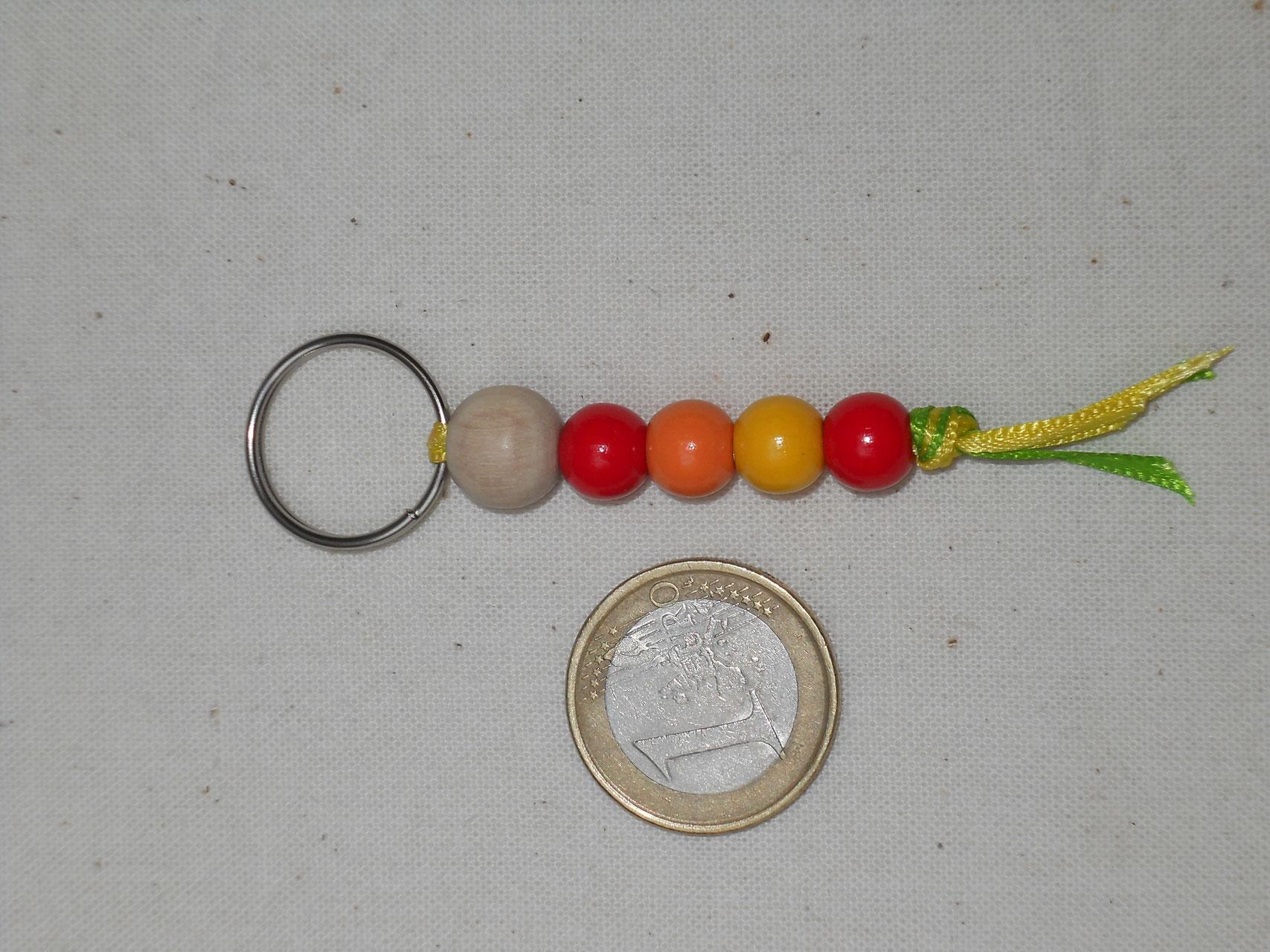 Schlüsselanhänger Taschenanhänger Eule aus Birkenholz /& Bernstein