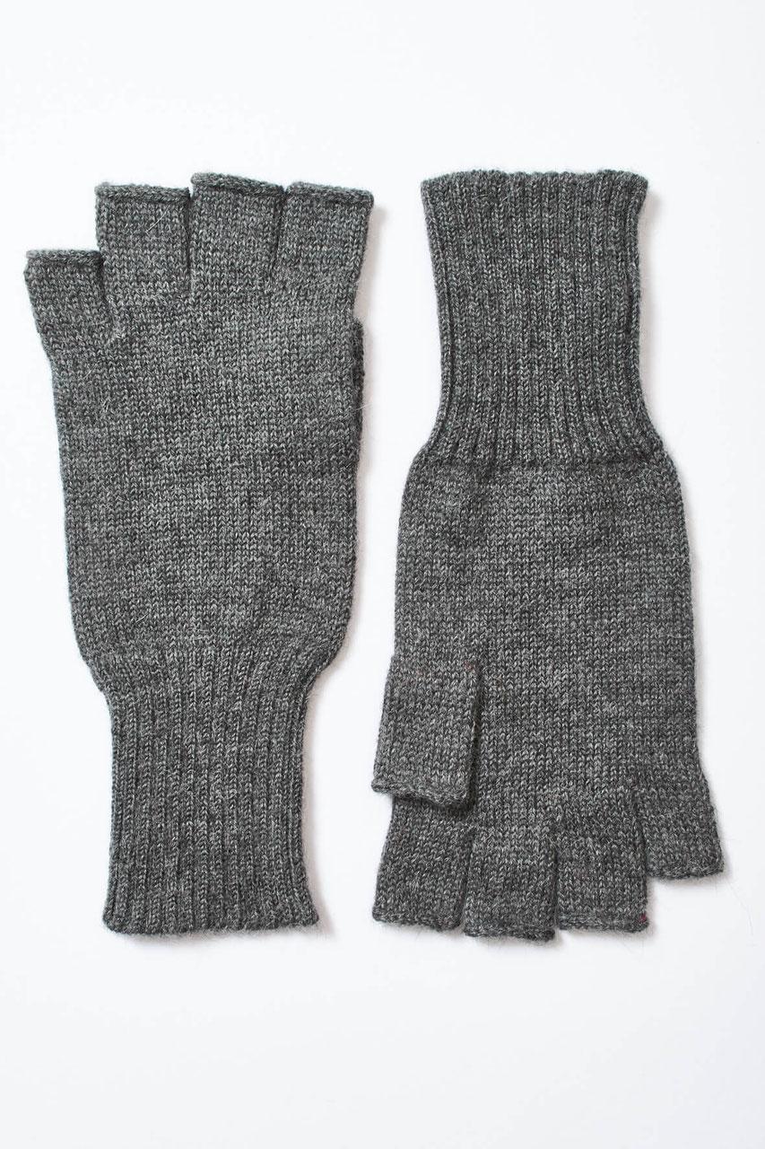 Strickhandschuhe aus Wolle Schurwolle Winterhandschuhe Damenhandschuhe Strick