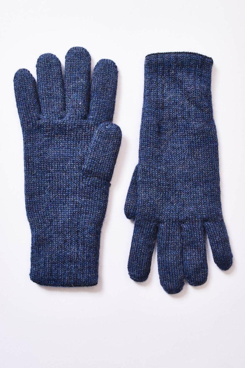 NEU Strick-Handschuhe gefüttert ohne Finger schwarz Daumen mit Finger S-XL