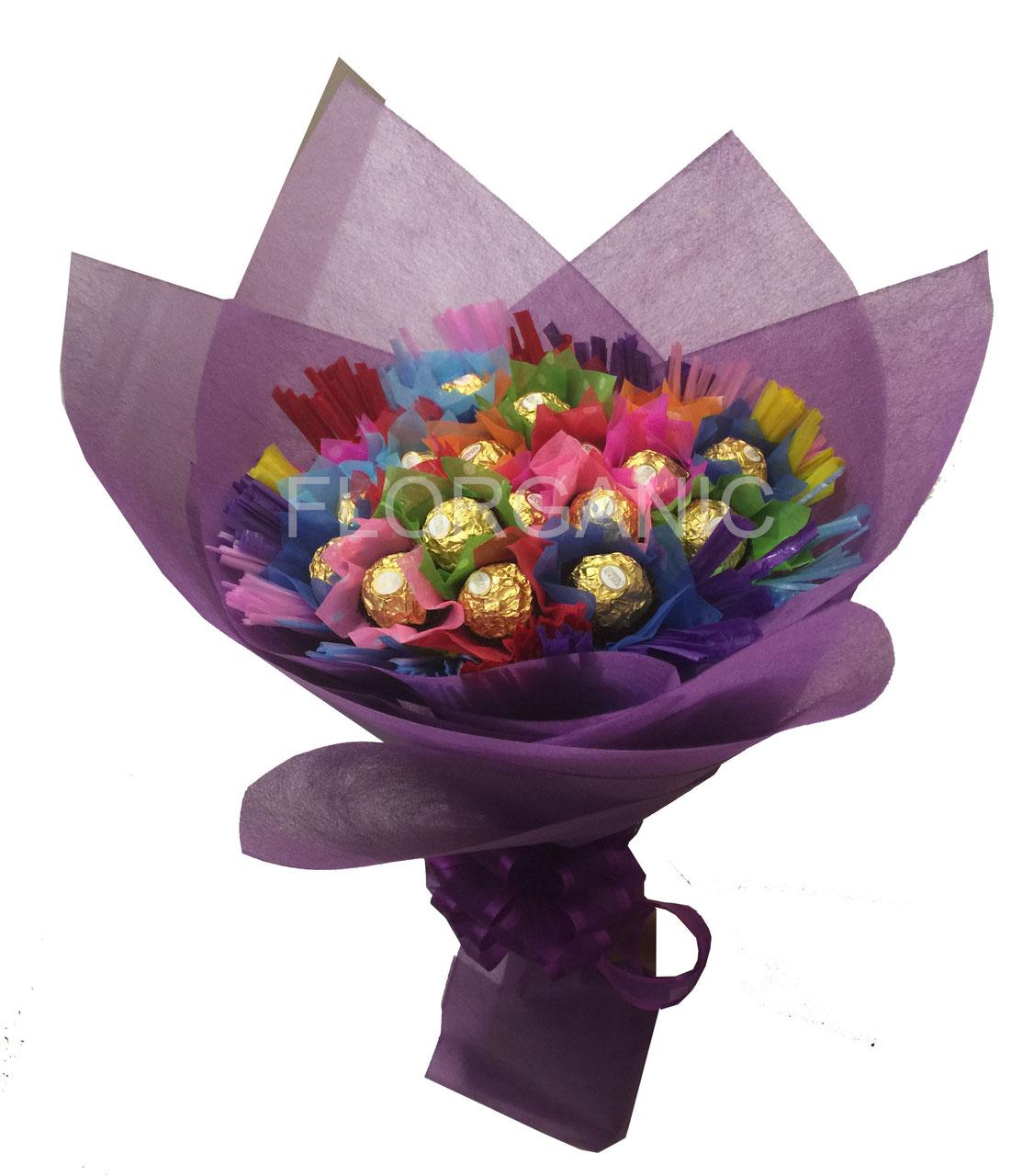 Dulces y globos a domicilio florganic flores a domicilio df for Arreglos de mesa con dulces