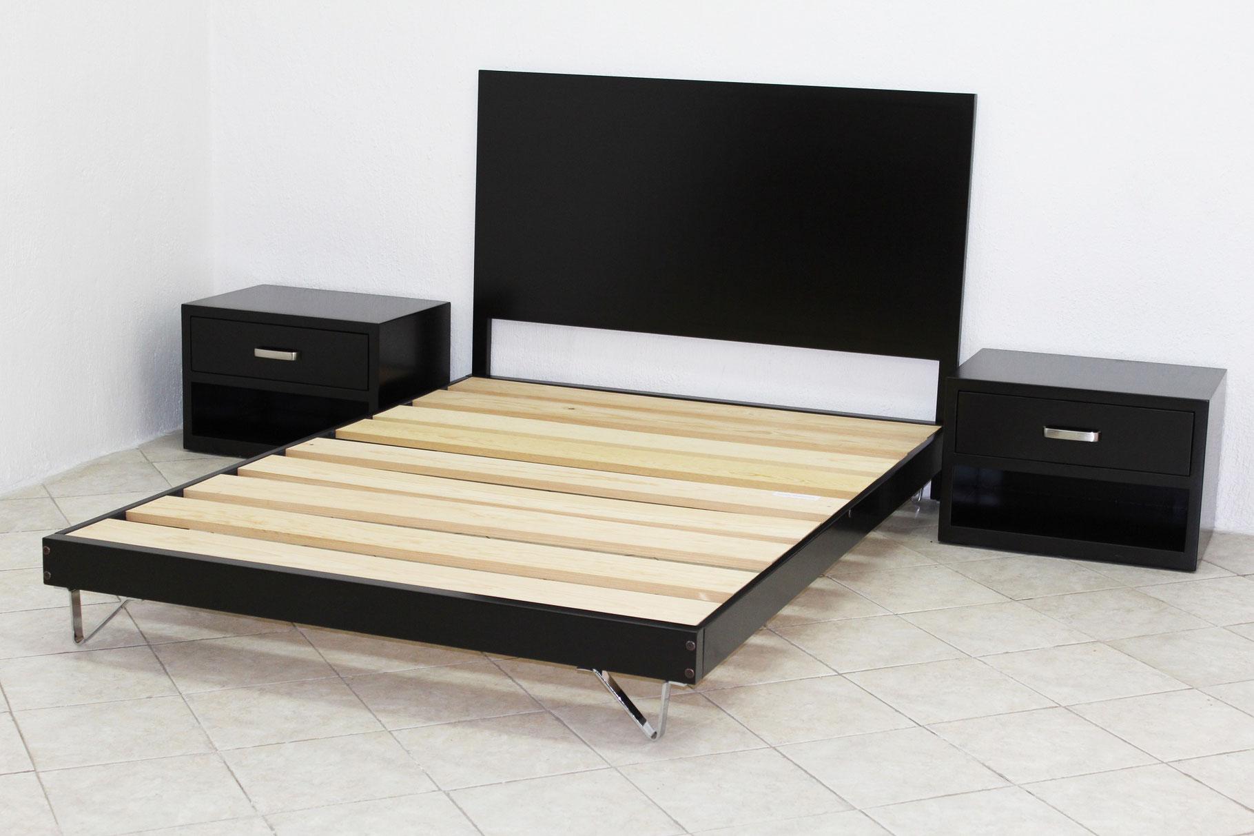 Recamaras muebles gm muebles de madera for Muebles minimalistas recamaras