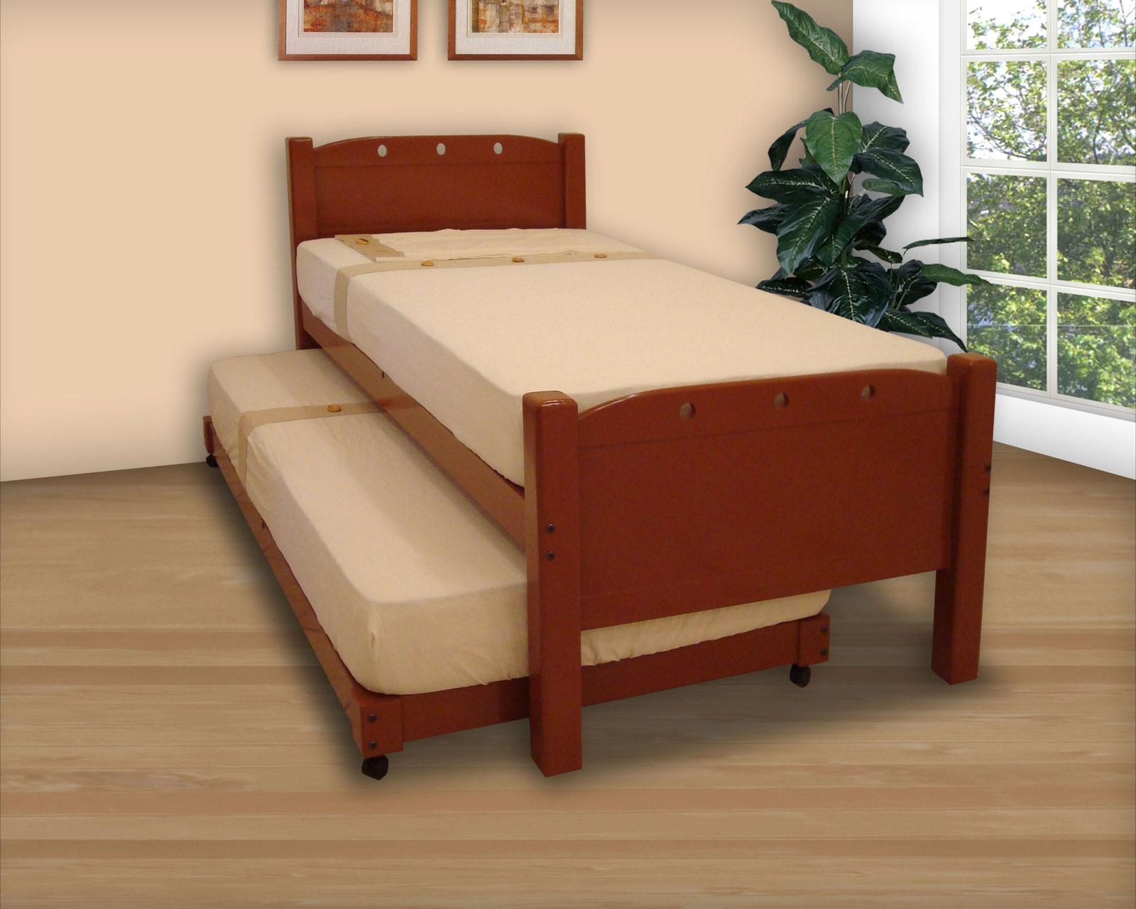 Camas dobles muebles gm muebles de madera for Almacenes de camas en ibague
