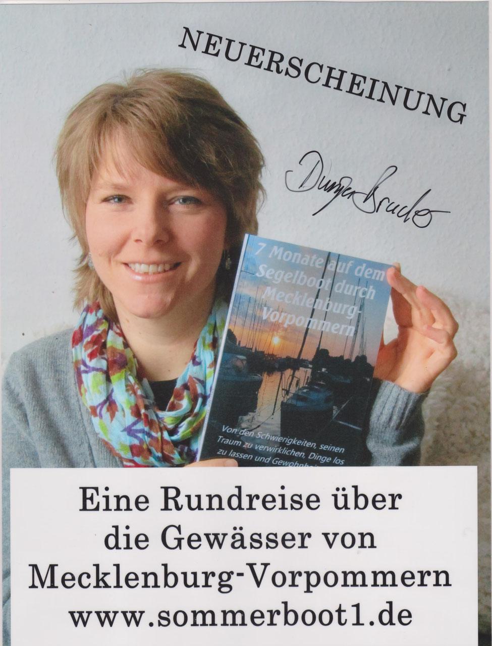 Leben auf dem Boot 7 Monate auf dem Segelboot durch Mecklenburg-Vorpommern