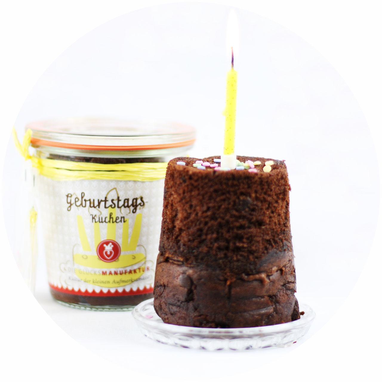 Geburtstags Kuchen Im Glas Die Glucksmanufaktur Kuchen Im Glas