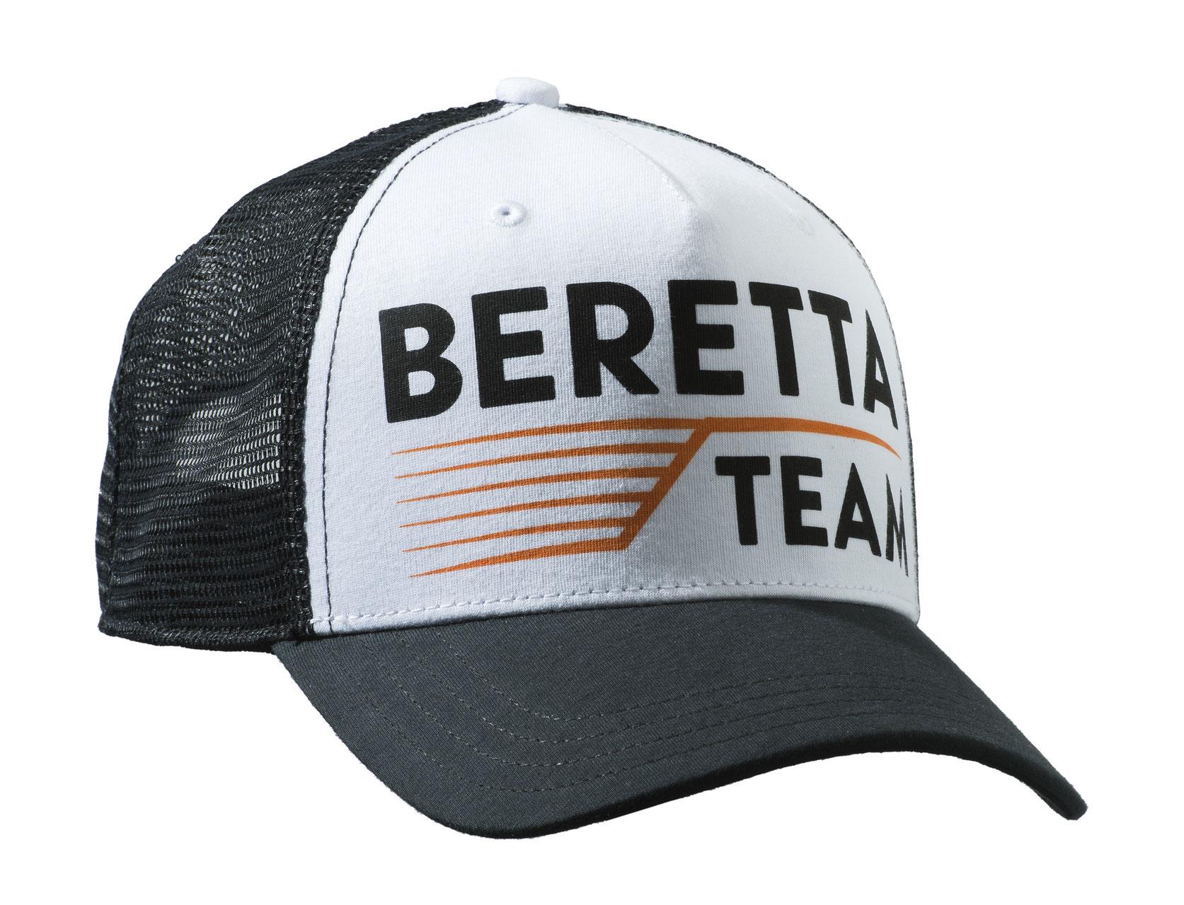 Cappello Team Beretta Team Cap codice BT051 Bianco e Nero. Cappello  baseball in cotone con ... 9644fae9566b