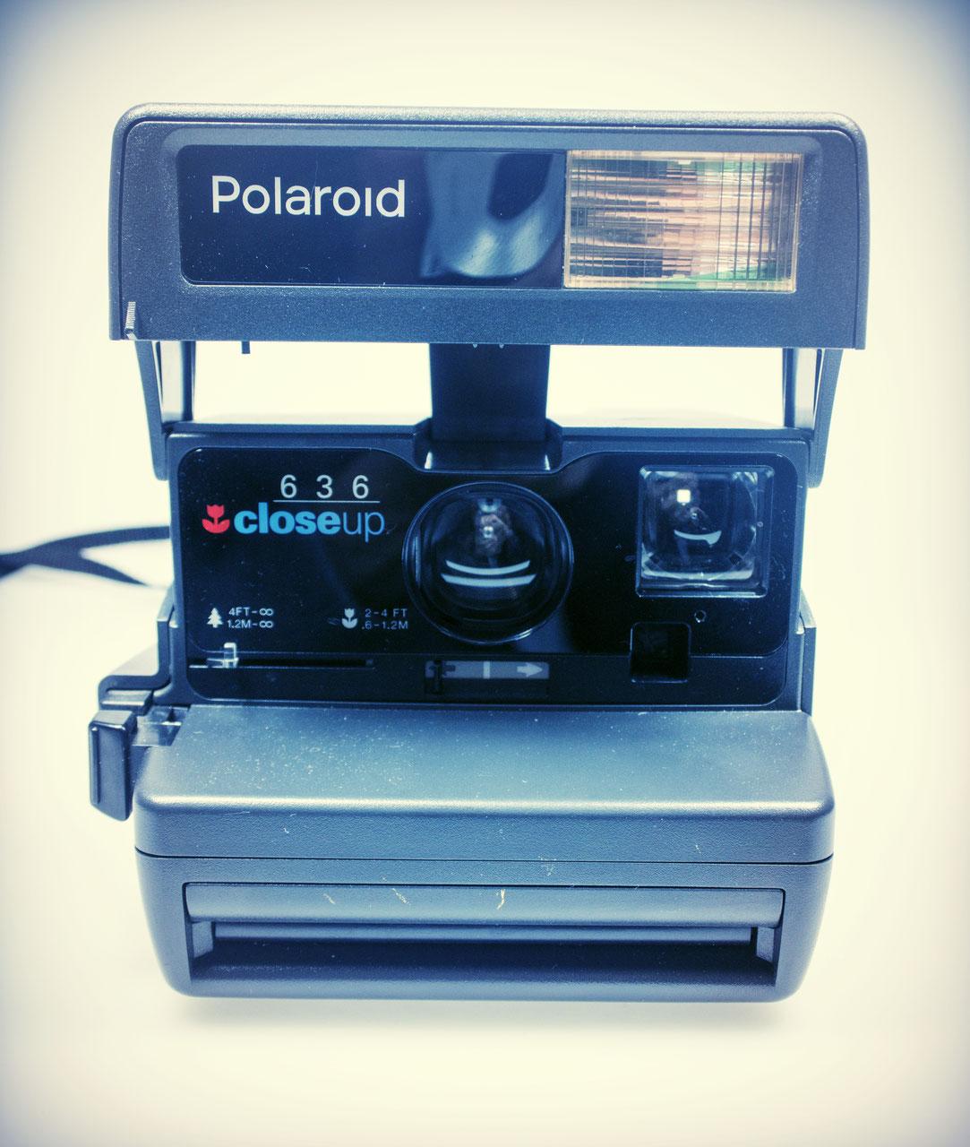 polaroid closeup 636 kamerastelle. Black Bedroom Furniture Sets. Home Design Ideas