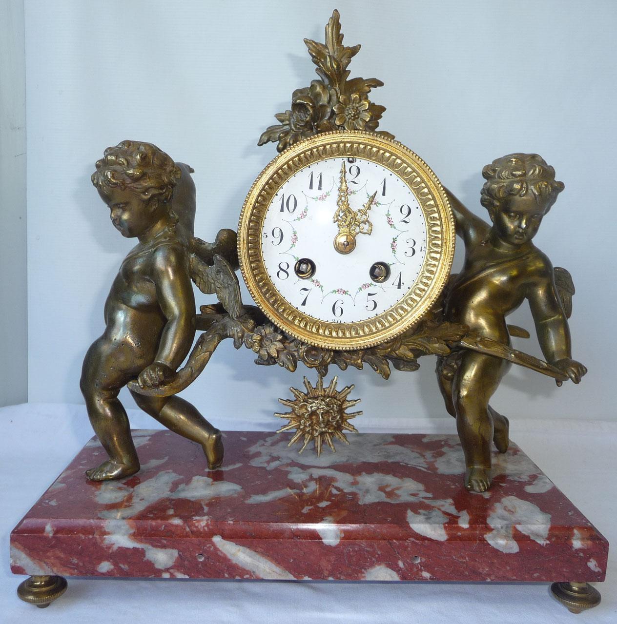 horloge pendule comtoise antiquit s edelweiss. Black Bedroom Furniture Sets. Home Design Ideas
