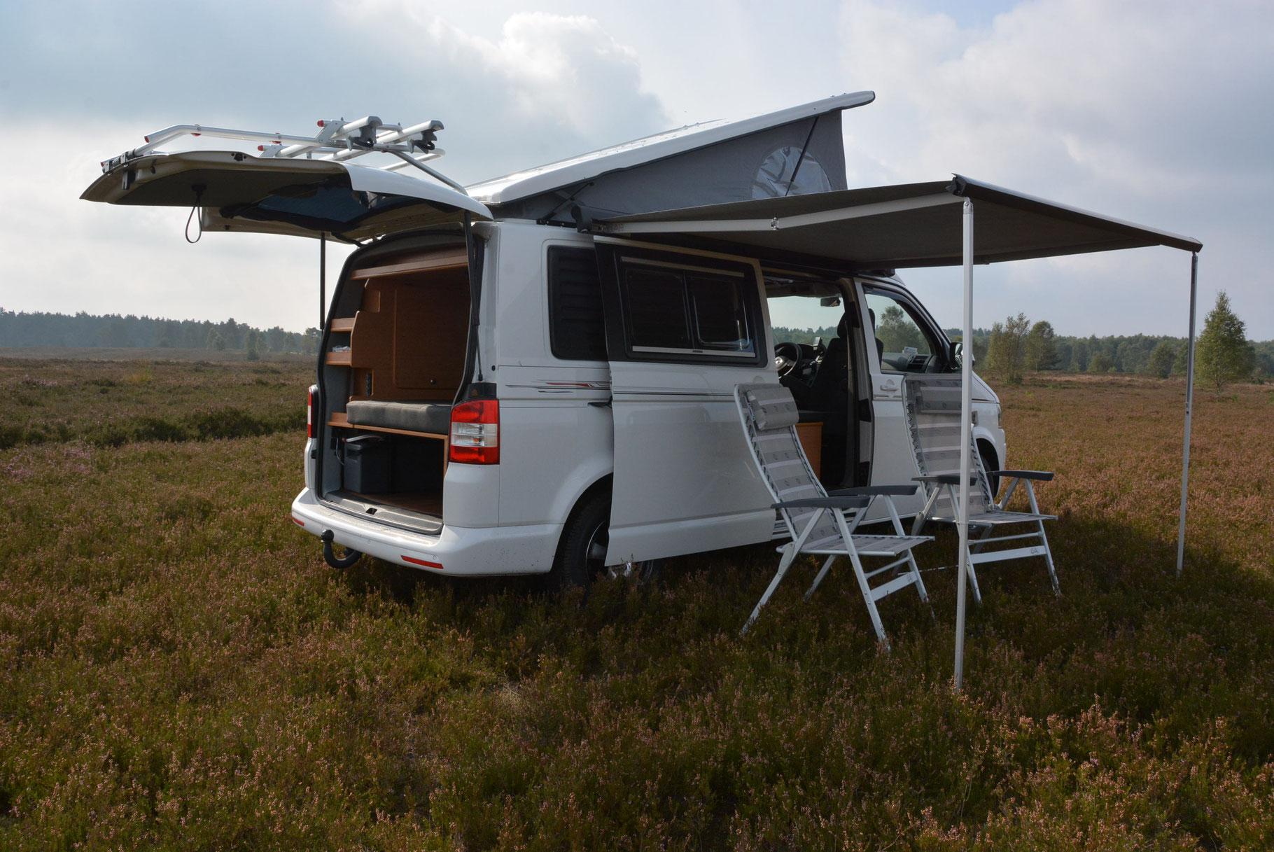 vw t5 aufstelldach langer radstand reisemobile jesteburg. Black Bedroom Furniture Sets. Home Design Ideas