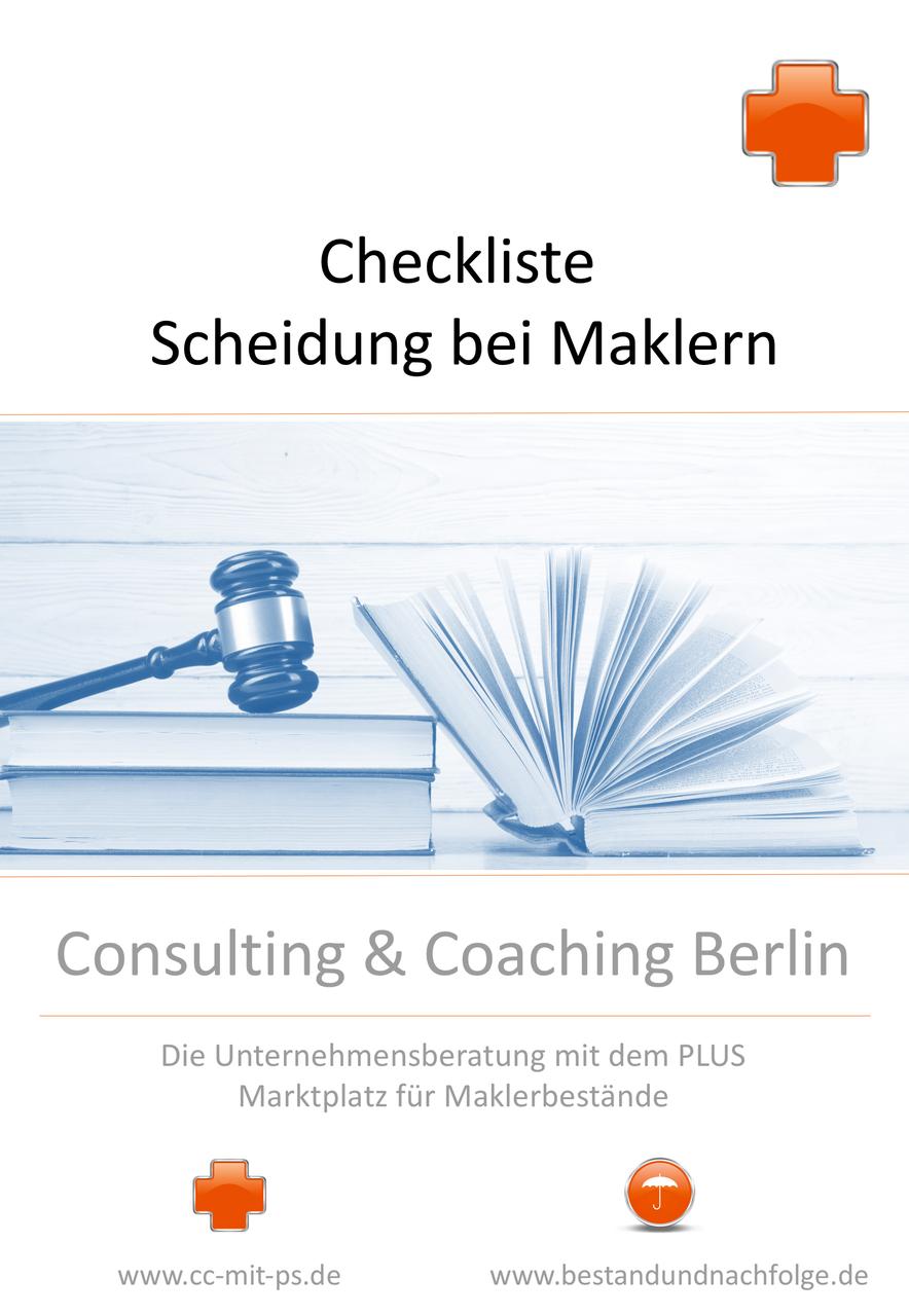 Checkliste zur Scheidung oder Trennung von Maklern/Maklerinnen ...