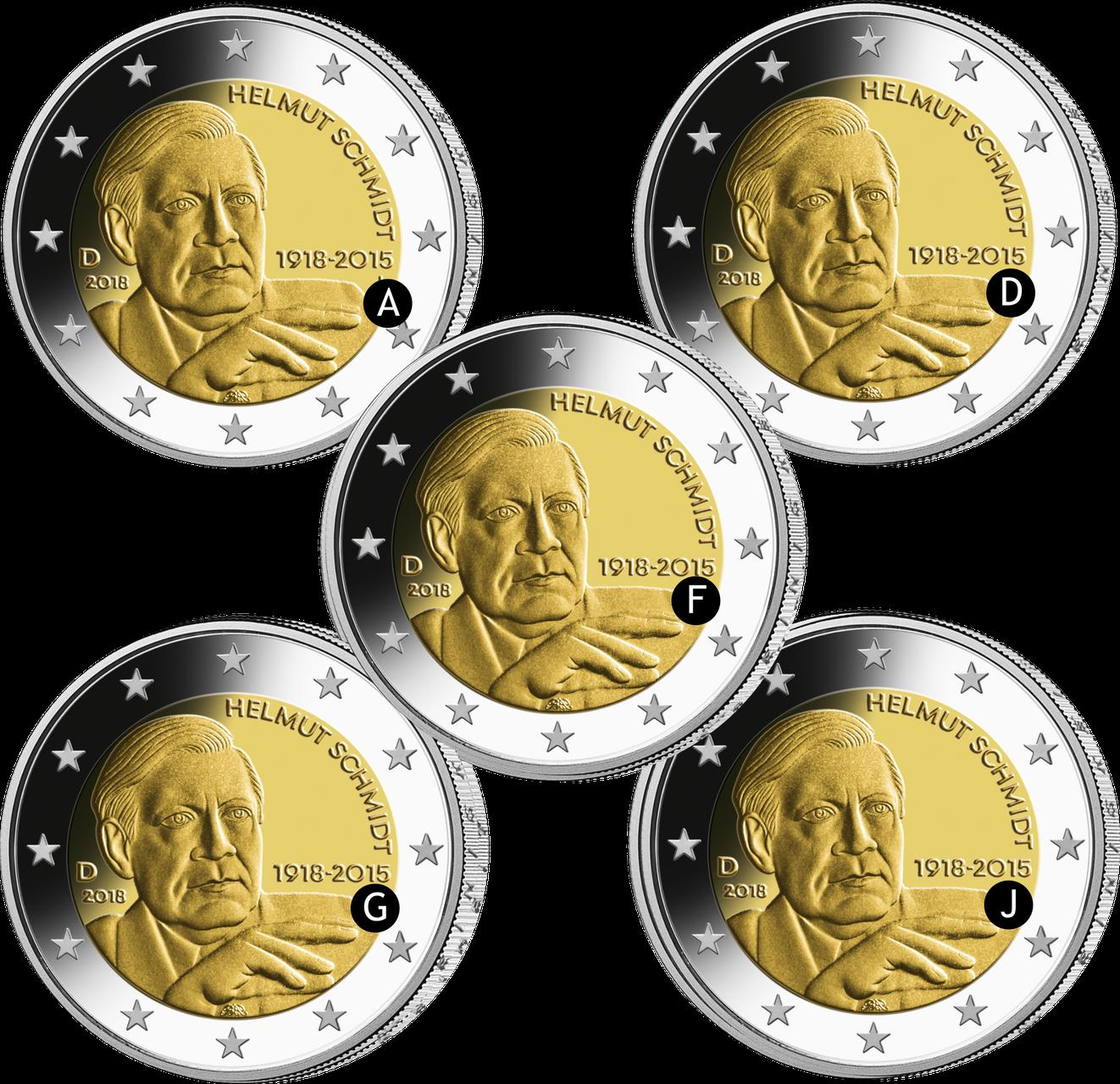2 Euro Münzen Meine Münze