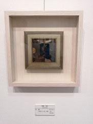 空鏡 多層ガラス絵(2層)、箔 100×100mm 66,000円(税込)