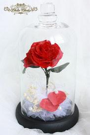 ディズニー 美女と野獣 一輪の薔薇 プロポーズ フラワーギフト リングピロー