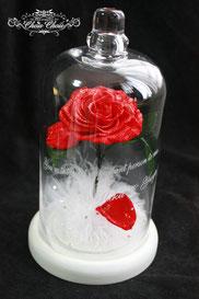 ディズニー 美女と野獣 一輪の薔薇 ガラスドーム  フラワーギフト
