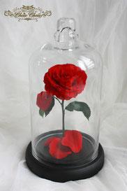 ディズニー 美女と野獣 一輪の薔薇 ガラスドーム 結婚式 ウェディング ウェルカムアイテム