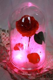 ディズニー 美女と野獣 一輪の薔薇 誕生日 贈り物 プレゼント