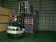 深谷倉庫の安全・確実な荷役作業
