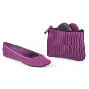 Baby Can Travel Store - Sidekicks Mesh Foldable Ballerina Flats