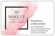 Maquilleuse SD Makeup à Paris.
