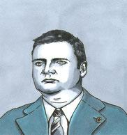 Romanowski als Comicfigur