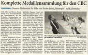Westdeutsche Zeitung Bericht vom 03.12.2007 DM