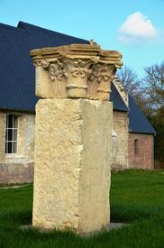 Chapiteau de l'église St-Jacques-Abbeville