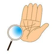手相や人相など、人それぞれが持っている印で、運勢を予測する。
