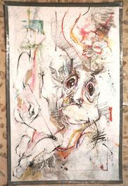 """""""Note de mes sens 1"""" 240/140cm, 2012"""