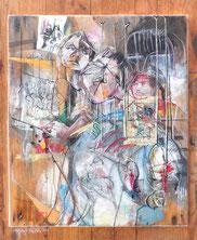 «Métro, duo sombre», 2013