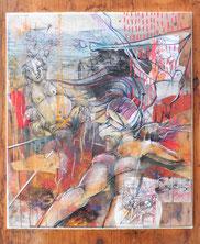 « Etang, ventre et fesses », 2013