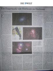 Die Welt - Astronomie Markus Paul 03.12.2013