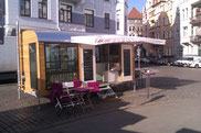 Mobile Cafe Bar  Bauwagen Cafe Loco Hannover