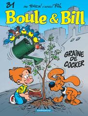 bande dessine bd boule et bill cocker anglais