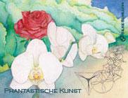 Ausstellung Fantastische Kunst - Einladungskarte
