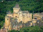 Le château de Castelnaud, dans le Périgord noir, en Dordogne.