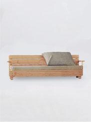 canapé de jardin made in france bois
