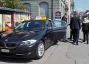 Geschäftsfahrten mit Taxi Fritschi Rapperswil-Jona