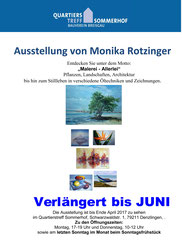 Ausstellung Quartierstreff Sommerhof Denzlingen