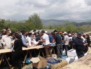 Une image du festival, où des milliers de semences sont données et échangées