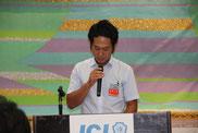 議案の詳細を説明する上畑隆昭・輝く地域創造委員長