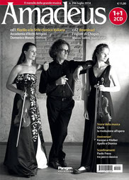 Italian music magazine AMADEUS with German violinist Lea Birringer