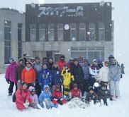 スキー体験(白馬岩岳山頂)