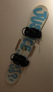 Snowboard Wandhalterung Wandhalter Wall mount