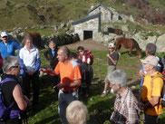 À la Cabane de Caillaü, lieu du dernier relais des évadés avec les passeurs