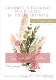 Salon du Mariage Mariage en toute intimité à Toulouse 13 Mars 2022