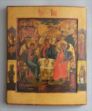 Ikone, Heilige Dreifaltigkeit