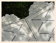 TA030-Dettaglio interno - rose di tessuto sintetico - vellutate al tatto