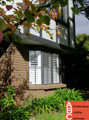 PVC Plantation Shutters Adelaide in Bay Windows