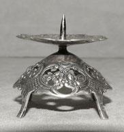 Kerzenhalter, 800er Silber, Halbmond Krone , Ø 5,5 cm, 27,0 g. , € 56,00